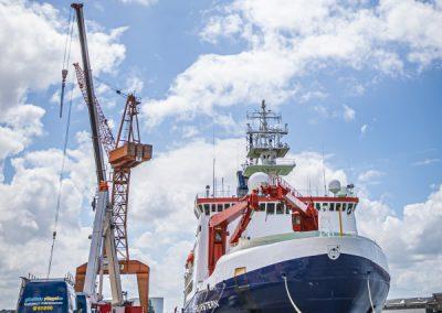 Glasbau Fliegl Arbeiten für Lloyd Werft